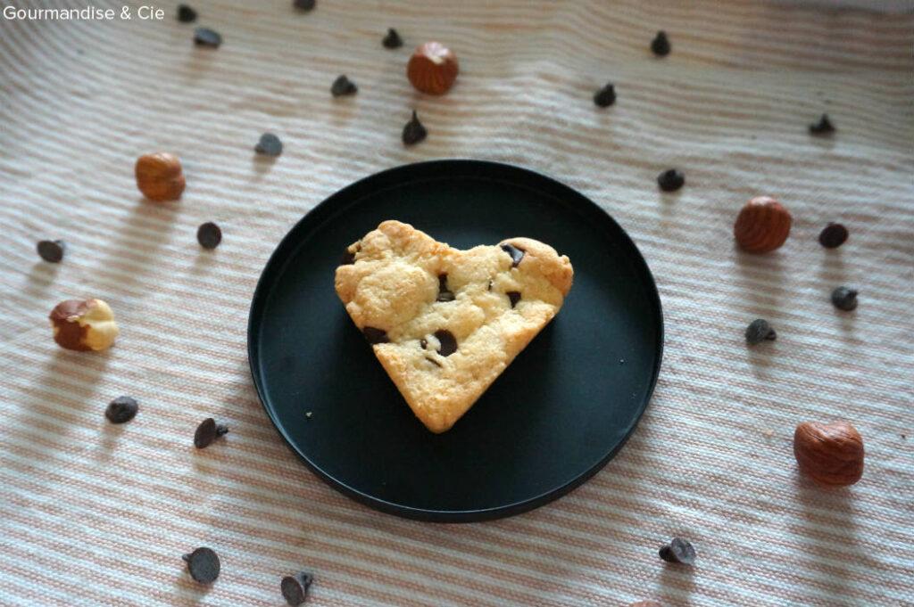 Biscuits amande et chocolat