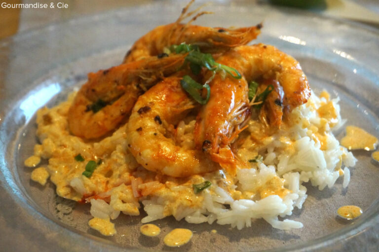 Recette facile de crevettes marinées au curry et citron vert