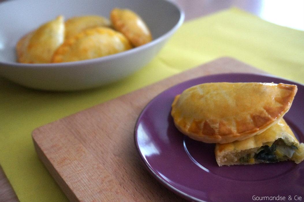 Recette apéritif – chaussons à la fondue de poireau et mozzarella