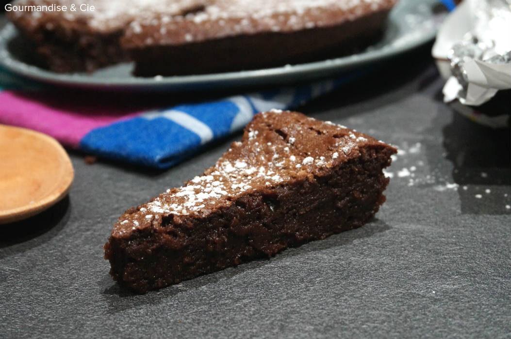 Gâteau (très) fondant au chocolat de Trish Deseine