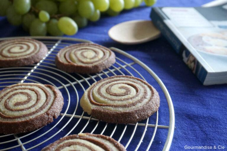 Sablés spirale vanille-choco